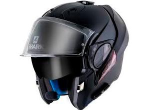 casco de moto tipo jet con intercomunicador incorporado