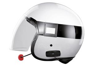 intercomunicador para casco de moto interphone shape o cellular line